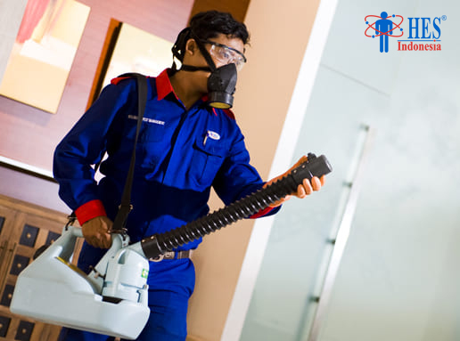 Jasa Penyemprotan Disinfektan No. 1 di Jakarta