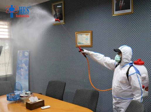 Jasa Penyemprotan Disinfektan Kantor Terbaik di Indonesia