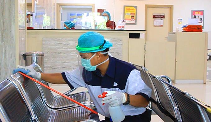 Jasa Kebersihan & Layanan Kebersihan