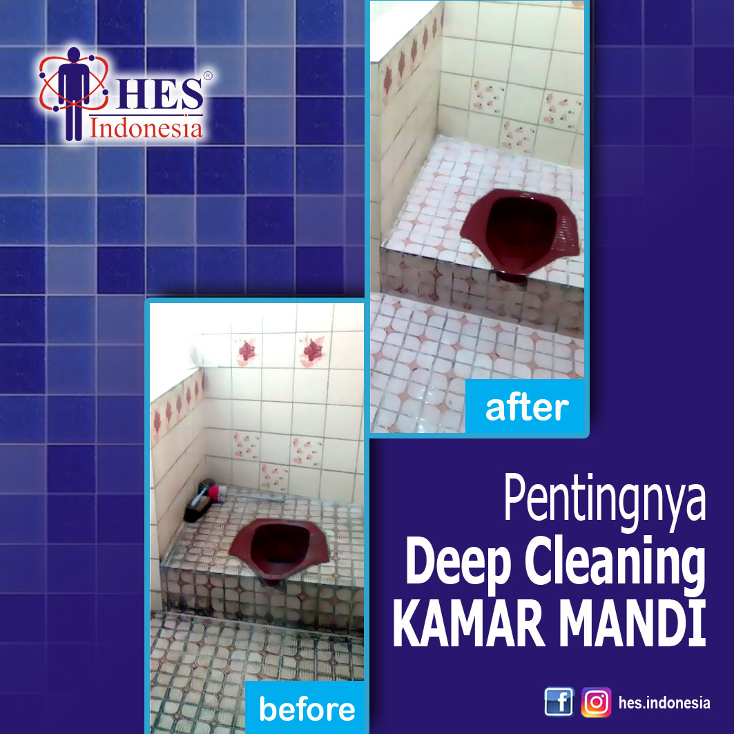 Deep Cleaning Kamar Mandi