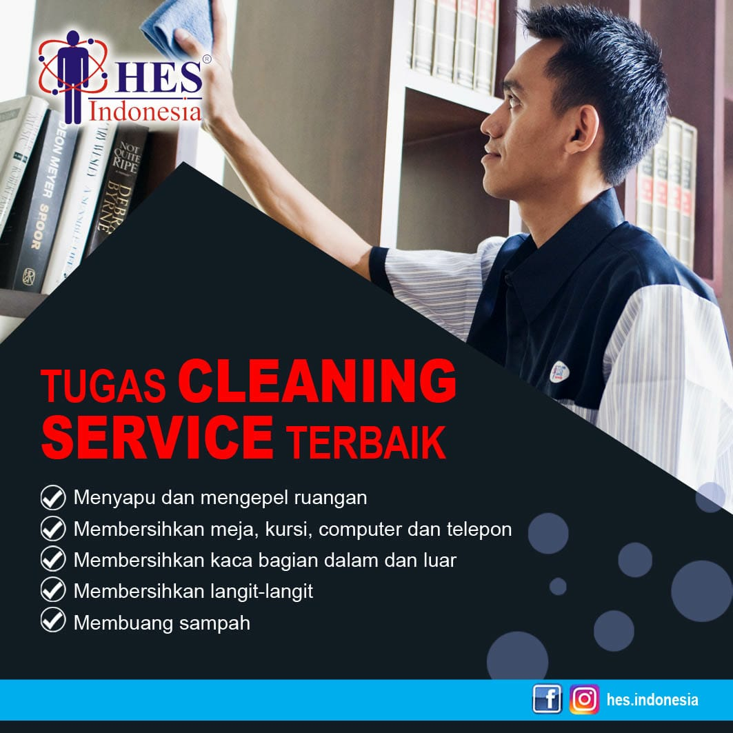 Tugas Cleaning Service Terbaik|Jasa Cleaning Service Jakarta